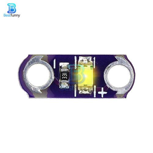 5//25PCS LilyPad SMD LED 3V-5V Light Module DIY Kits Red//Green//Blue//Yellow//White