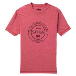 Sitka Seal Tee Ss 20083-RD Toutes Tailles-afficher le titre d`origine WHPunqg2-07141113-901762607