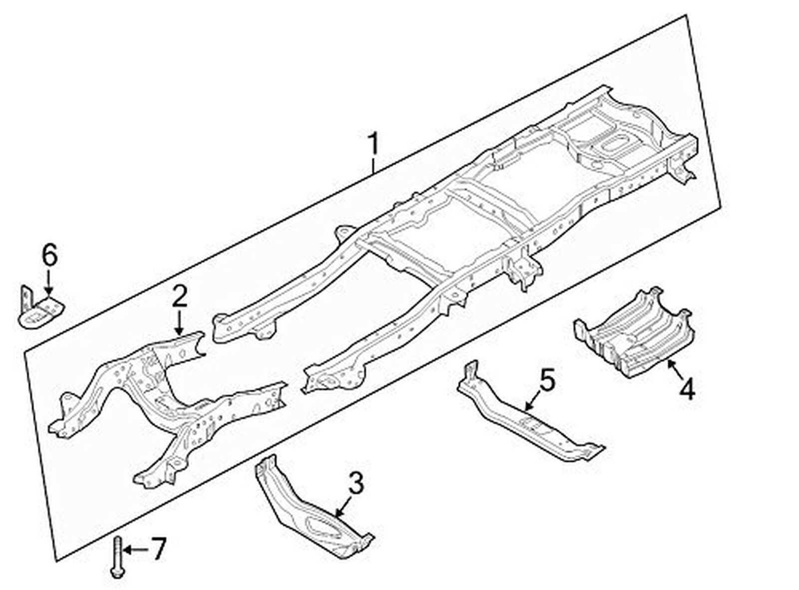 FORD OEM 11-16 F-250 Super Duty Frame-Tow Hook Right BC3Z17A954A