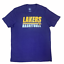 039-47-Brand-NBA-Los-Angeles-LAKERS-Men-039-s-Short-Sleeve-Screen-Crew-Neck-Tee-Shirt thumbnail 12