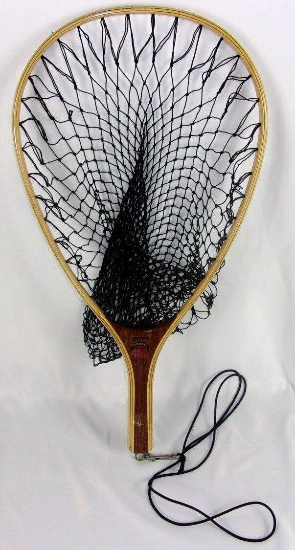 RANGER 15  Wood Framed Fresh Water Fishing Trout Net