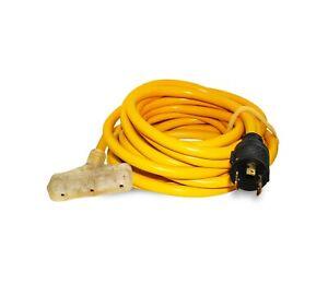 Female Conntek Generator Extension Cord 25/'-30A 125V 10//3-Male L530P L5-30R