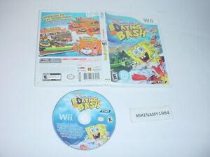 SPONGEBOB'S BOATING BASH game only in plain case - Nintendo Wii system