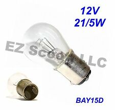 OEM TAIL/ BRAKE LIGHT BULB 12V 21/5W GY6 SCOOTER ATV TAOTAO ZNEN  JONWAY PEACE