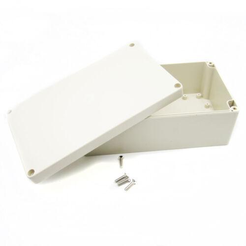 ABS Plastic Electronics Instrument Project Enclosure Box Case Cover Screw