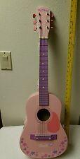 Barbie student acoustic guitar, pink