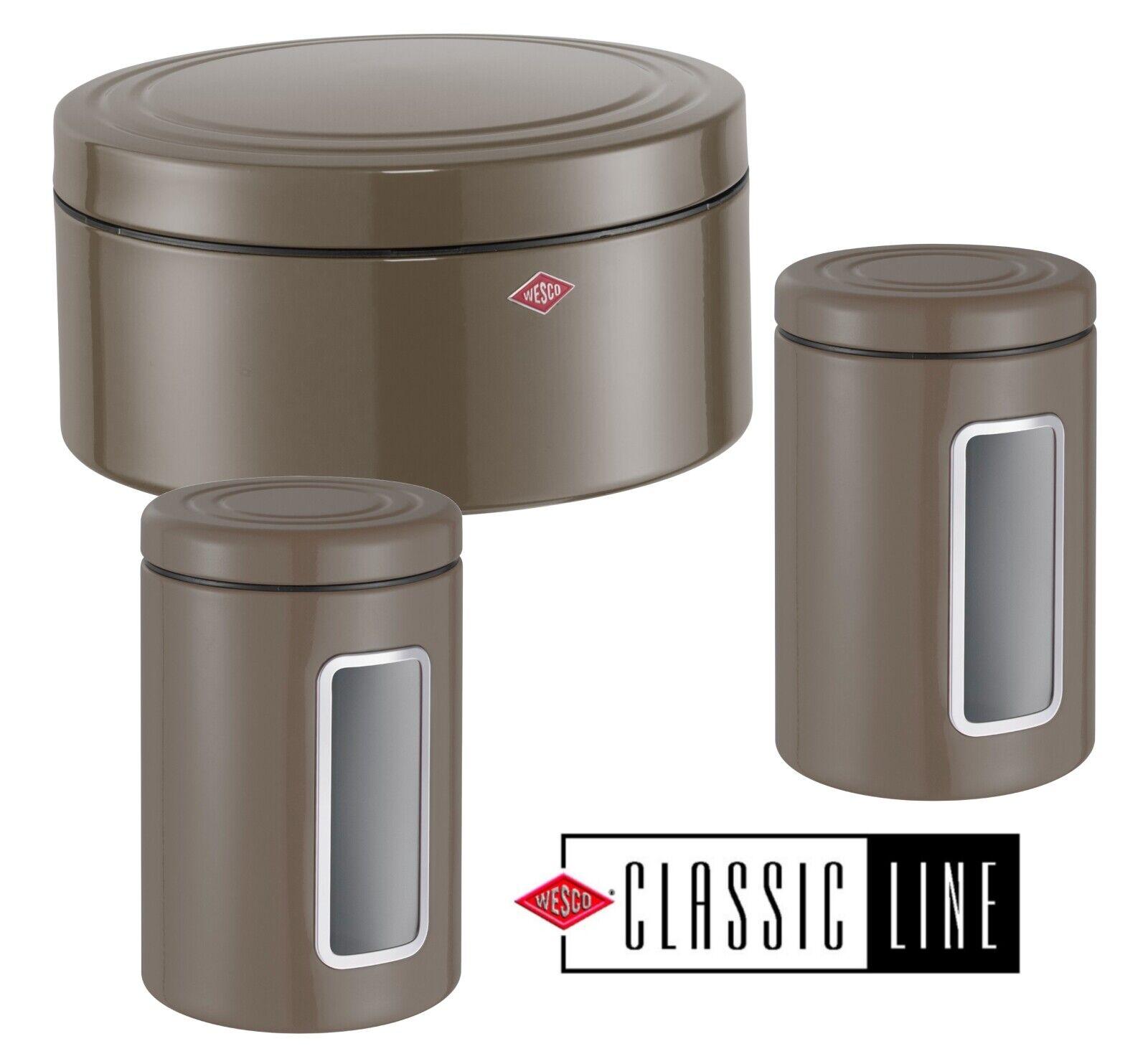 Wesco Classic Boite Dosette de Patisserie en Jeu + 2x Dose Inventaire à Gateaux