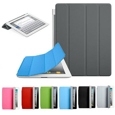 Ultra Thin Magnetic Leather Smart Cover Case for Apple iPad 2 3 4 Free Shipping