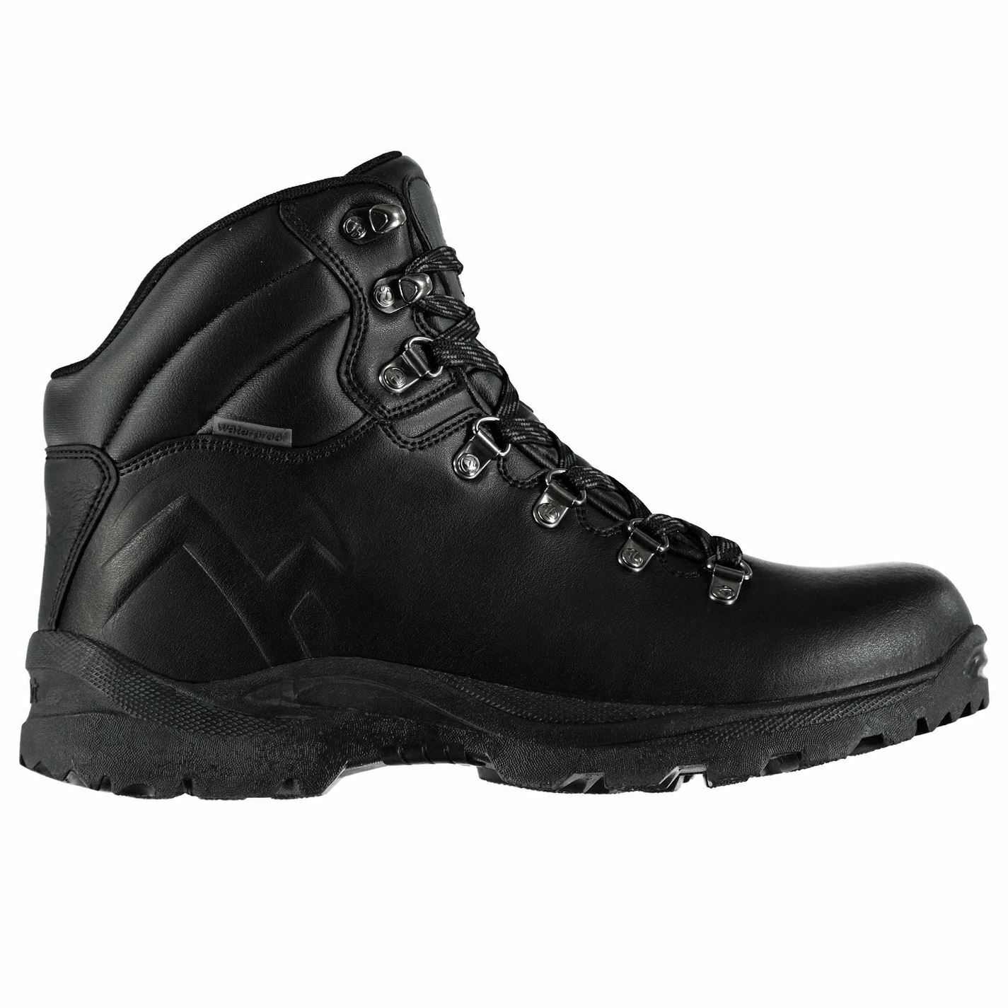 Gelert Mens Atlantis Walking Boots  shoes Lace Up Waterproof Padded Ankle Collar  convenient