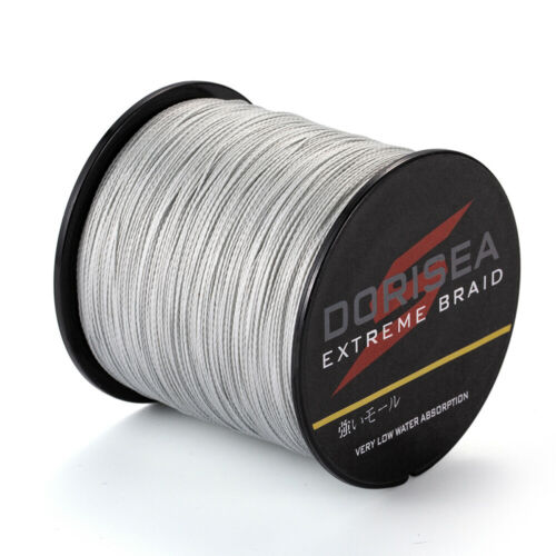 300M 6lb-300lb Superb Power Dyneema PE Braided Fishing Line Extreme Braid Gray