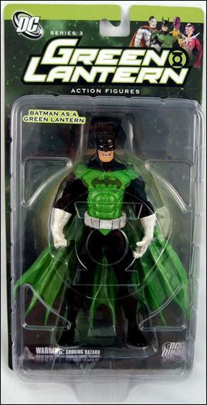 Grün Lantern 3 BATMAN as Grün LANTERN 6in Action Figure DC Direct Toys