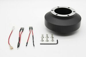 Short-Steering-Wheel-Hub-Adapter-Boss-Kit-Subaru-Impreza-WRX-STI-Forester-08-14