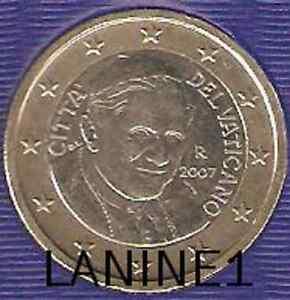 1 EURO OFFICIELLE BU VATICAN 2007   RARE