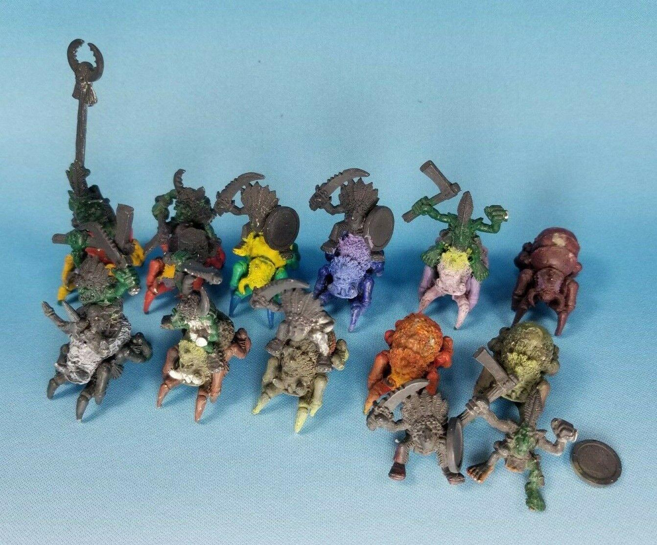 0715 Warhammer Age of Sigmar Forest Goblins Spider Riders x10