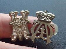 ANTIQUE VINTAGE HV GERMAN WWII SHOULDER BADGE & ST JOHNS AMBULANCE WA CAP PIN