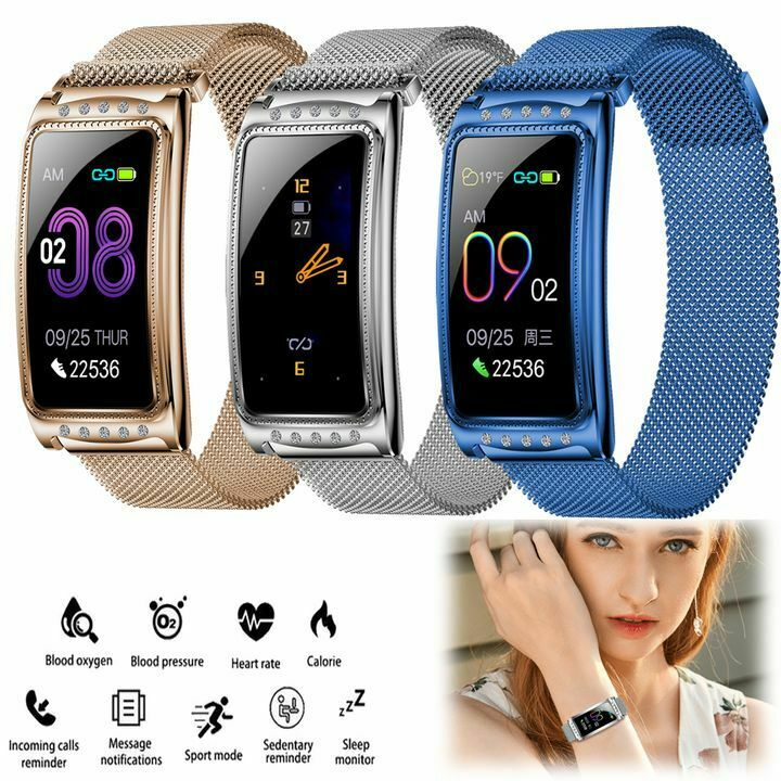 Girls' Smart Watch Fitness Tracker Heart Rate for iPhone Samsung A21 A41 A51 A71