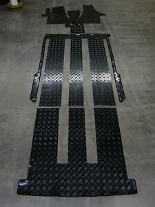 gummimatten f r vw t6 multivan bus fahrgastraum kofferraum komplettauslage ebay. Black Bedroom Furniture Sets. Home Design Ideas