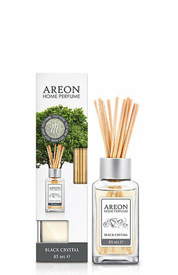 Areon Home Luxury Perfume Reed Diffuser + 10 Rattan Reeds, Black Crystal Scent | eBay