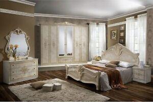 Dettagli su Camera da letto matrimoniale completa moderna modello Amalfi  design raffinato
