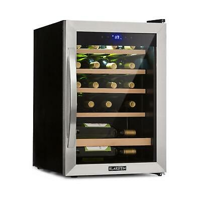 Weinkühlschrank Weinklimaschrank Weinkühler Getränkekühlschrank 65L 19 Flaschen