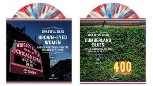 "CHICAGO CUBS~GRATEFUL DEAD~7/"" VINYL ALBUM~THIRD MAN RECORDS~2 SONGS~1971 /& 1977"