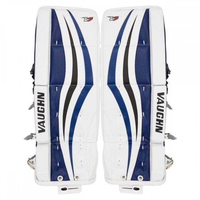 Buy Vaughn XR Velocity V7 Jr Leg Pads Black blue 22
