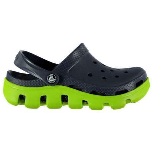 Crocs Kids Boys Duet Sport Infant Sandals Cloggs Adjustable Heel Strap
