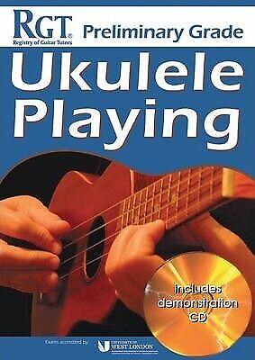 RGT Ukulele Playing Preliminary Grade With CD