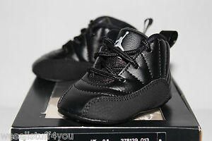 583b7902d3241b Air Jordan Retro 12 XII Master Black Gold Sneakers Toddlers GP Size ...