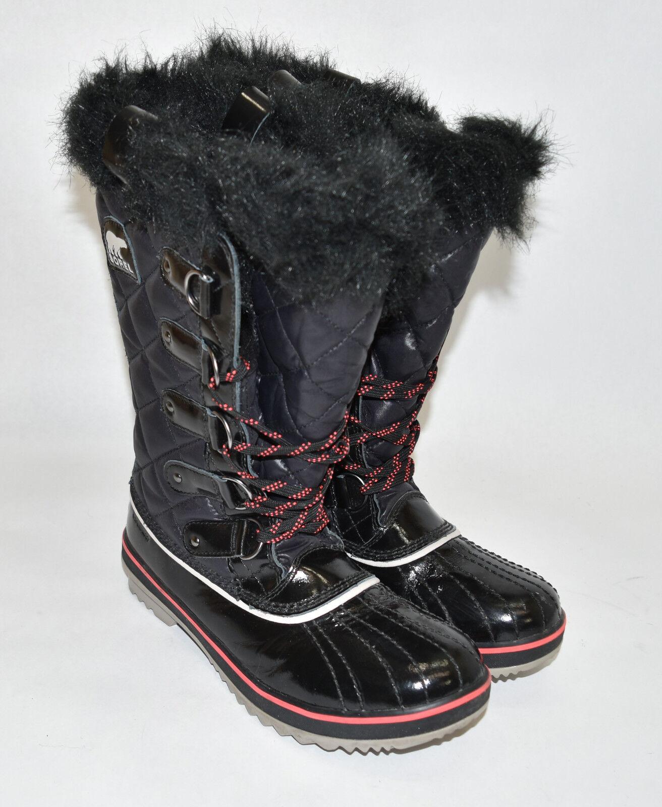 prezzi bassi di tutti i giorni Sorel Sorel Sorel Tofino Cate NL2191-010 donna  8.5 nero Lifestyle Waterproof Winter stivali  nuovi prodotti novità