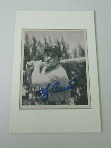 Yogi Berra Autograph , 1989 - 1948 Bowman Baseball Card