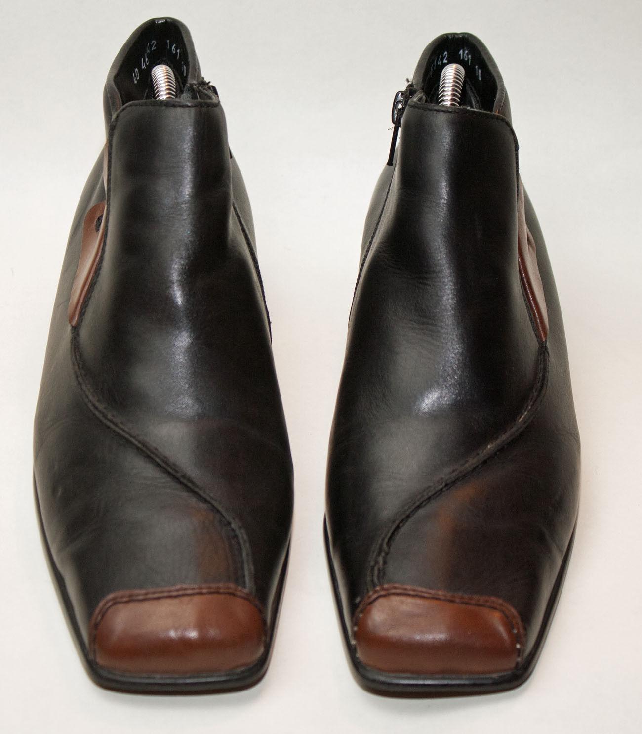 RIEKER  ♥ STIEFELETTEN  ♥ Schuhe  ♥ Gr. 40  ♥ TOP  ♥  Leder ♥  gefüttert ♥