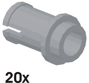 20 Stück NEUE 1/2 Pins in alt-hellgrau (4274)   606
