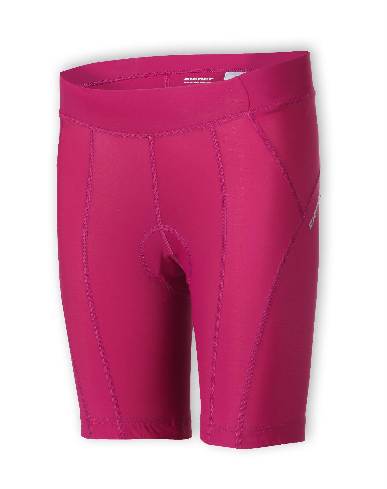 ZIENER Women's Bike Bike Pants Tight chocci Raspberry 203 NEW