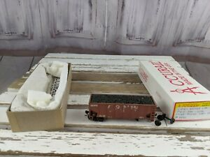 C-amp-W-hopper-weathered-3240-brown-coal-car-toy-HO-freight