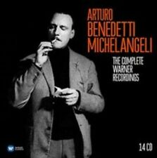 ARTURO BENEDETTI MICHELANGELI: THE COMPLETE WARNER RECORDINGS NEW CD