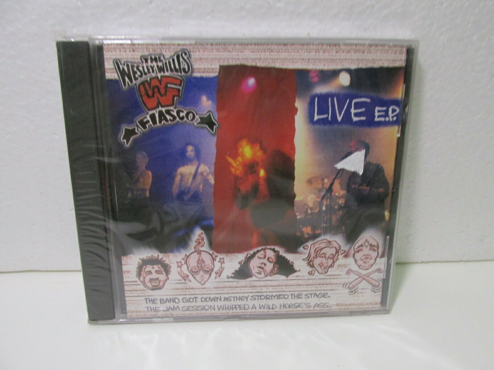 Rare The Wesley Willis Fiasco Live E P 2001 Cd10721 For Sale Online