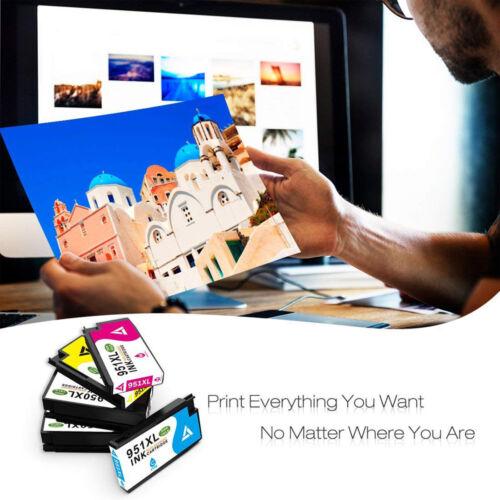 8PK 950 XL 951 XL Ink Cartridge Combo For HP OfficeJet Pro 8100 8625 8615 8660