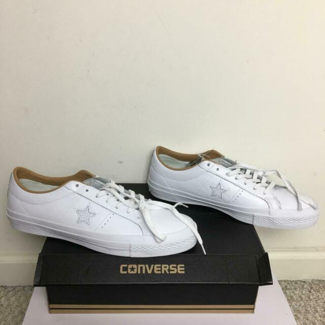Star Leather Ox White Sand Mens Shoes