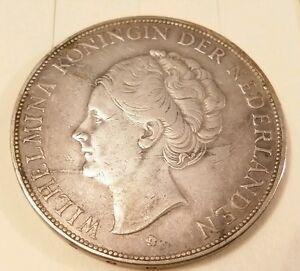 Netherlands-2-1-2-Gulden-1929