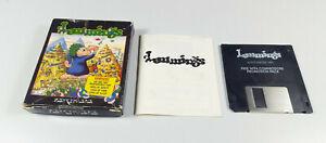 Lemmings-Commodore-Amiga-Spiel-SMALL-Box-VGC-Vintage-Collectible-Sammler