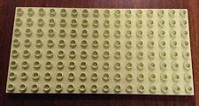 RARE Lego Duplo LIGHT LIME 8x16 Base Plate Baseplate GREEN 4820 PRINCESS PALACE