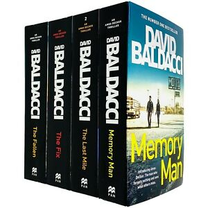 Amos Decker Series 4 Books Adult Collection Pack Paperback By David Baldacci