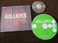 2 Track PROMO MAXI CD The Killers Shadowplay Tranquilize Feat Lou Reed EU 2007