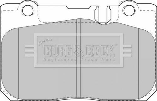 BORG BBP1631 BRAKE PAD SET DISC BRAKE Front