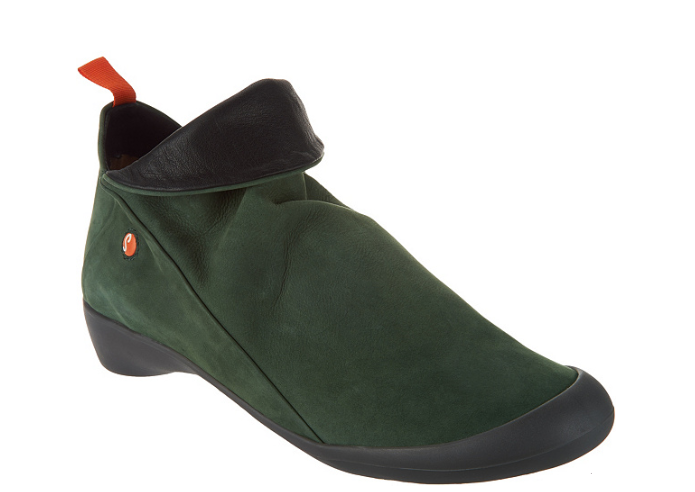 negozio online Softinos by FLY London Leather Leather Leather Low Ankle avvio Farah Dark verde Donna  41 9.5-10  prezzo all'ingrosso