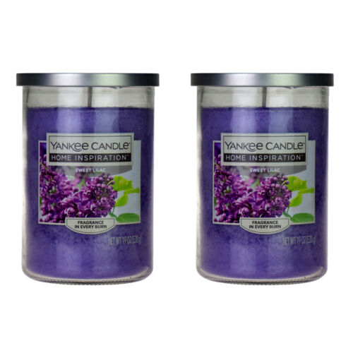 Yankee Candle Home inspiration SWEET LILAC 2 Bougies