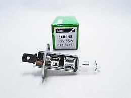 2X Lucas H1 448 Halogen Headlight Bulbs LLB448 12v 55w   2PACK H1 !