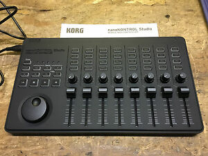 korg nanokontrol nano kontrol studio dj midi usb controller in box armens ebay. Black Bedroom Furniture Sets. Home Design Ideas