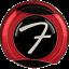 Genuine-Fender-Infinity-F-Logo-Strat-Tele-Guitar-Strap-Locks-Straplocks-RED miniature 3